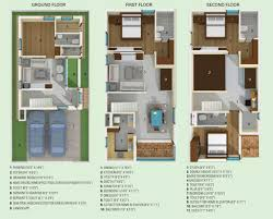 triplex house plans floor plan anu teja constructions anuteja u0027s lakshmi villas at