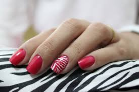 gel nail designs easy to do at home