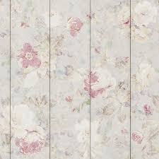 Pink Removable Wallpaper by Pastel Flowers Removable Wallpaper Wallpaper Cover Wood