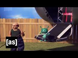 adult mini games alien mini invasion robot chicken adult swim youtube