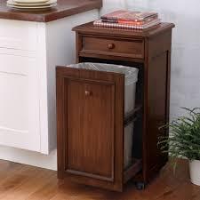 kitchen trash cabinet