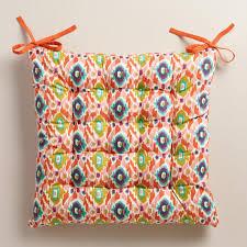 Ikat Armchair Multicolor Ikat Chair Cushion World Market