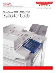 download free pdf for xerox workcentre 7235 multifunction printer