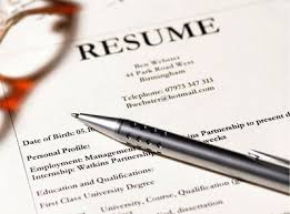 How To Do A Simple Resume For A Job by How To Write A One Page Resume