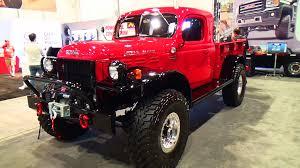 Dodge Ram Wagon - 1947 dodge power wagon sema 2014 youtube