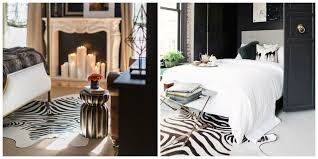 Cowhide Rug In Living Room Zebra Print Cowhide Rugs Fur Source
