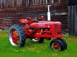old farm scenes 1948 mccormick deering farmall farm tractor