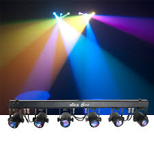Saber Led Light Bar by Chauvet 6spot Rgb Led Spot Light Bar System With Bag Pssl