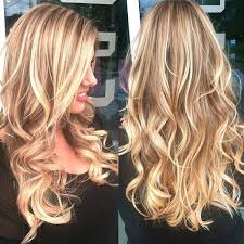 long blonde hair with dark low lights subtle dark ombre and discrete ombre for dark hair hairstyle ideas