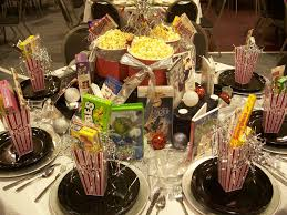 Movie Decorations For Home Christmas Banquet Table Decoration Ideas With Black And White