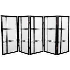 5 panel room divider 35 75