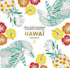 Livre Le petit livre de coloriage  Hawaï Collectif Marabout