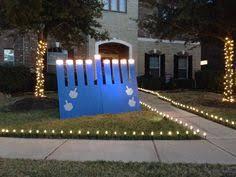 outdoor hanukkah menorah this 8 foot lighted chanukah menorah will make a great outdoor
