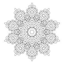kaleidoscope coloring pages at eson me