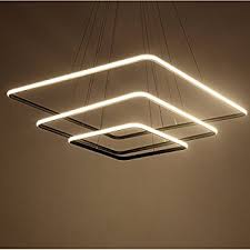 Lightinthebox Pendant Light Modern Design Led Living Three Rings