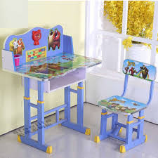 Small Child Desk Small Drawing Painted Study Table Table Chairs