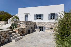 greece for sale villa on the paros island view on the sea and