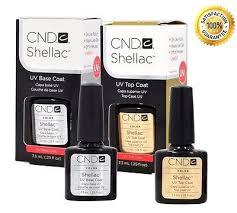 cnd shellac top and base coat set soak off gel 25 oz gel polish