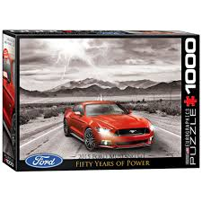 2015 ford mustang gift jigsaw puzzle 2015 ford mustang gt 1000