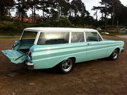 green station wagon 1964 ford falcon 2 door station wagon resto mod 64 falcon 2 door