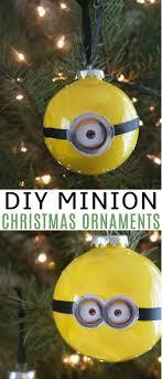 diy minion ornaments for despicable me 3 dvd
