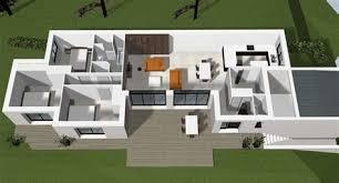 cuisine cocoon plan d une maison moderne exemple de cuisine 4 dune contemporaine