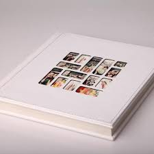 personalized wedding album a of white coated adhesive self adhesive wedding album diy