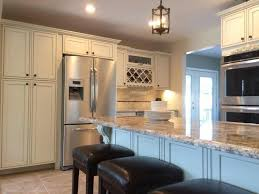 Painted Glazed Kitchen Cabinets Pearl Maple Glazed Kitchen Cabinets