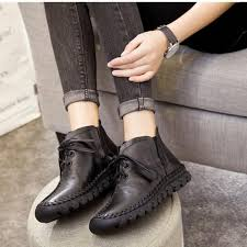 womens boots 2017 aliexpress com buy boots 2017 leather winter boots