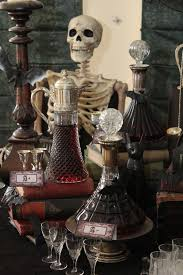 halloween barware halloween vampire party gothic inspired u2014 chic party ideas