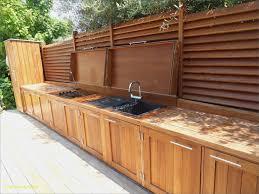 cuisine ete bois aménagement cuisine extérieure charmant cuisine exterieure d ete