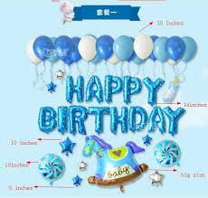 Horse Birthday Decorations Aliexpress Com Buy Balloons Set Baby Boy Birthday Gift Navy Blue