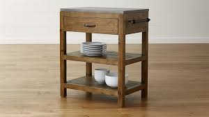 small kitchen carts and islands bluestone reclaimed wood small kitchen island reviews crate and