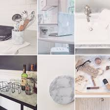 diy hack 6 ways to transform your decor with marble contact paper