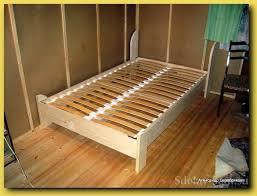 twin platform bed frame