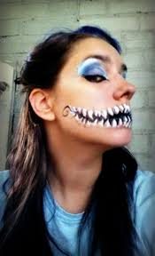 cat face for halloween with makeup halloween inspiration on