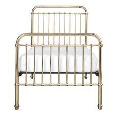 gold metal bed frame u2013 savalli me