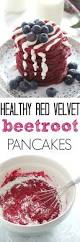healthy red velvet beetroot pancakes my fussy eater