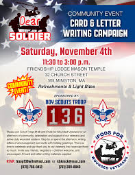 card letter writing caign ipods for wounded veterans
