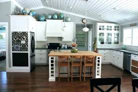 space above kitchen cabinets ideas what to put above kitchen cabinets ideas for decorating above