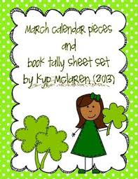 hi included in this packet are 2 march calendar headers 31