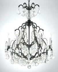 iron and crystal chandelier special flush chandelier ceiling light