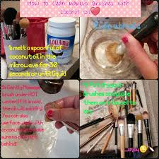 How To Clean A Faucet How To Clean Makeup Brushes With Coconut Oil Diy At Home All You