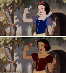 disney princesses redrawn women color incredible