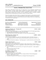 Resume Examples For Sales Manager 100 Resume Examples Sales Executive Resume Template Sales