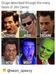 Faces Of Memes - drugs described through the many faces of jim carrey osean speezy