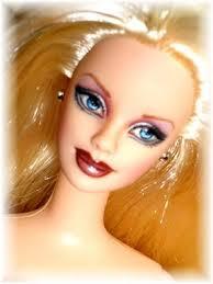repaint barbies dolls feltmagnet