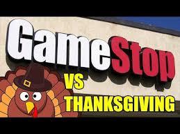gamestop open for thanksgiving 2017