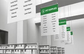 aisle markers aisle markers custom digital retail signage ngs printing