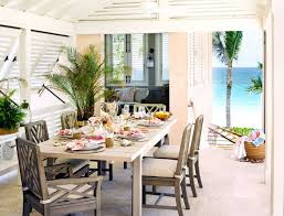 Beach Dining Room Sets by 10 Ways A Vacation Home Feel It U0027s All In The Details